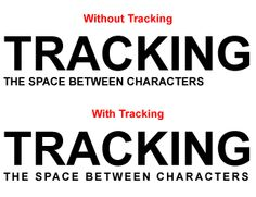 Leading Kerning And Tracking Typography Pinterest