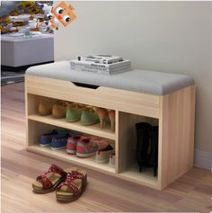 Stools & Ottomans Living Room Furniture Home Furniture fabric+ wood stool tabouret bois minimalist sgabello shoes rack multisize – Top Trend – Decor – Life Style Wood Shoe Rack, Shoe Rack Bench, Diy Shoe Rack, Shoe Rack With Seat, Best Shoe Rack, Diy Rack, Shoe Storage Stool, Shoe Storage Cabinet, Bench With Storage