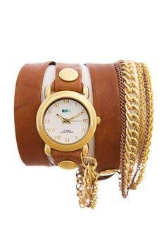 Wanita > Jam Tangan > Analog > La Mer Collections Arizona Multichain Wrap Watch. > La Mer Collections