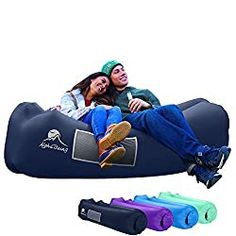 AlphaBeing Inflatable Lounger - Best Air Lounger for Travelling, Camping, Hiking - Ideal Inflatable Couch for Pool and Beach Parties - Perfect Air Chair for Picnics or Festivals (Aqua Blue) Catamaran, Air Lounger, Air Chair, Gifts For Teen Boys, Camping Chairs, Camping Gifts, Outdoor Parties, Beach Chairs, Beach Party