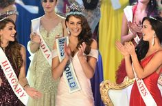 Miss South Africa Rolene Strauss took home the Miss World 2014 crown. The 22-year-old graciously accepted the title at the Excel London ICC Audito...