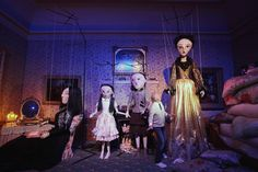Puppets at the Enchanted Palace by Paul Costelloe