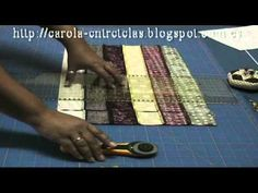 ▶ Tutorial bargello - YouTube
