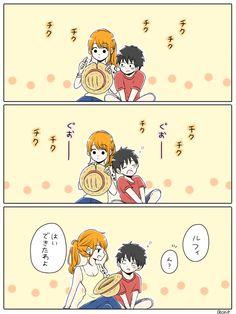 Mang え 🍌 (@ & Manga Nami One Piece, One Piece Ship, One Piece Comic, One Piece Fanart, One Piece Manga, Dc Anime, Anime Comics, Scooby Doo Memes, Luffy X Nami