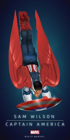 Sam Wilson Captain America Poster-02