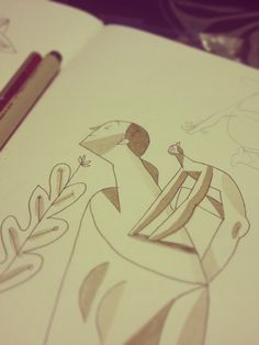 some of my pencils by Riccardo Guasco, via Behance