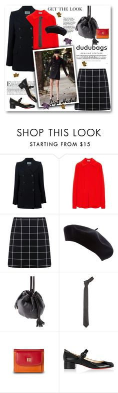 """""""Get the look- Gigi Hadid"""" by svijetlana ❤ liked on Polyvore featuring Étoile Isabel Marant, Mulberry, Miss Selfridge, Once Upon a Time and Christian Louboutin"""