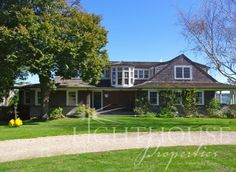 Martha's Vineyard Waterfront home for sale. Newly built to replicate the original 1905 structure, this thoughtfully designed beach house exudes the casual and understated vernacular of the West Chop homes of the early 20th century. http://www.lighthousemv.com