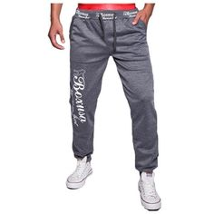 Soccer Training Pants Knowledgeable Men Sports Pants Sweat Pant Straight Hip Hop Male Trousers Sportswear Sports Soccer Pants Trouser Gym Running Fitness Pants Distinctive For Its Traditional Properties