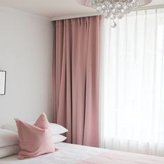 Pale Pink Solid Blackout Curtains Drapery Panel for Bedrooms and Living Rooms Filled with Fun. Perfect for Bedrooms and Living Room Enhance the look of your room decor by dressing your windows in this Girls Bedroom Curtains, Living Room Decor Curtains, Nursery Curtains, Home Curtains, Green Curtains, Living Room Windows, Colorful Curtains, Hanging Curtains, Living Room Lighting