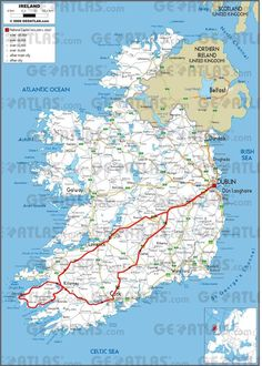 Ring of Kerry - all mapped out!