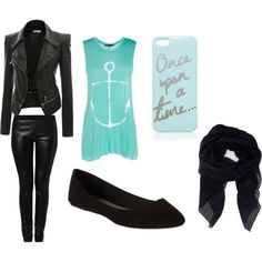 A fashion look from July 2014 featuring blue top, faux-leather jacket and leather pants. Browse and shop related looks. Cute Dresses, Shoe Bag, Polyvore, Stuff To Buy, Shopping, Shoes, Collection, Design, Women