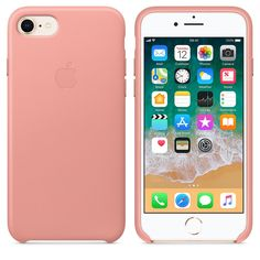 The bright orange Leather Case for iPhone 8 and iPhone 7 is made of tanned, finished European leather for a luxurious feel and premium protection. Iphone 8, Apple Iphone 5, Coque Iphone 6, Iphone Charger, Iphone Phone Cases, Ipod Touch ケース, Ipod Touch Cases, Capas Iphone 6, Cute Ipod Cases