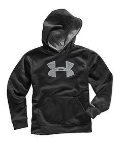 2835a3c481 Under Armour® Black Armour® Fleece Storm Big Logo Hoodie - Boys