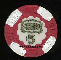 Atlantic City Casino Chip of the Day is a $5 Golden Nugget 2nd issue in Very Rare AU condition you can get here http://www.all-chips.com/ChipDetail.php?ChipID=17855  Wont find one any better!