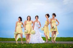 Robes Camélia pour demoiselles d'honneur