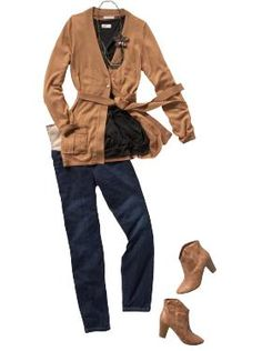 cute outfit! but wear flats if you're not feeling the heels.  and these are jeggings!!