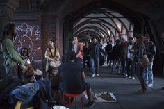 Sonntag, 21.06., 21:23 Uhr – Kreuzberg, Warschauer Straße: Fête de la Musique. © Odeta Catana
