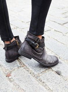 A.S.98 Imperial Distressed Ankle at Free People Clothing Boutique Leather  Ankle Boots, Ankle Boots 8e0c5ceed479