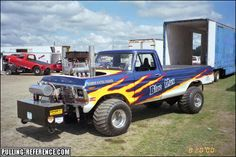 Truck And Tractor Pull, Tractor Pulling, Full Pull, Truck Pulls, Logging Equipment, Ford Pickup Trucks, Race Day, Tractors, Badass