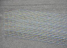 Water Lily grid bench by Ryuji Nakamura