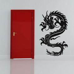 Chinese Style Dragon Wall Decal