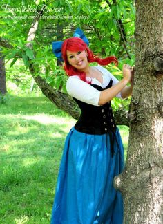 Cassie - Cosplay: Ariel (The Little Mermaid) Cosplayer: BewitchedRaven Photographer: James