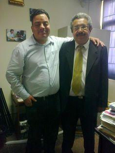 Freddie Armando Romero y periodista Enrique Guerrero. (2014)
