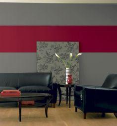 Tendance marsala - Une chambre à croquer grâce à ce mur peint dans ...