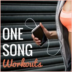 These workouts are set to one fun song. Hit play and start sweating! Perfect for a group fitness class!