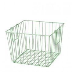 Mint Wire Basket #LarkStore