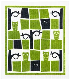 Dishcloths from Moomin, Almedahls, Ferm Living and Green Kitchen, Kitchen Decor, Scandinavian Design Centre, Swedish Dishes, Moomin, Home Accessories, Kids Rugs, Dishcloth, Home Decor