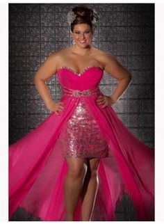 cutethickgirls.com pink plus size dress (21) #cuteplus