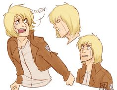 Armin arlert A beautiful cinnamon roll with a heart of solid gold