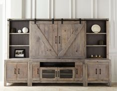Rustic entertainment center farmhouse furniture store white with fireplace 65 inch tv diy cente . rustic entertainment center more ideas Entertainment Center Furniture, Entertainment Center Makeover, Diy Entertainment Center, Diy Tv Stand, Layout, Reno, Repurposed Furniture, Rustic Farmhouse, Farmhouse Style