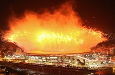 """Rio 2016 on Twitter: """"The flame is out Rio 2016 #OlympicGames ends with confetti…"""