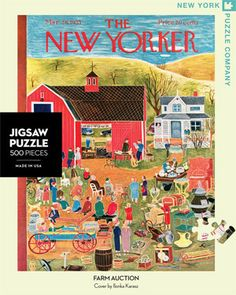 Farm Auction – New York Puzzle Company