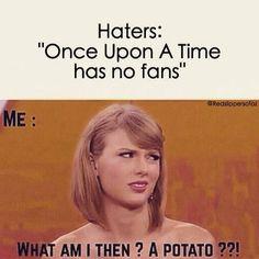 I'm a fan but I'm still a Potato