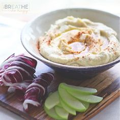 This low carb hummus is so delicious that you'd never guess it's grain free & made with super healthy cauliflower! Keto, Atkins, Paleo & Whole 30 compliant.