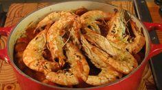 prawn and spicy sausage jambalaya