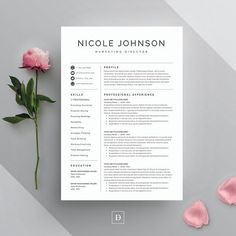 template for resumes
