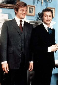 Roger Moore and Tony Curtis in The Persuaders