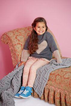 Lana Grossa PULLOVER Superbingo + Tiffany - FILATI Kids & Teens No. 4 - Modell 43 | FILATI.cc WebShop