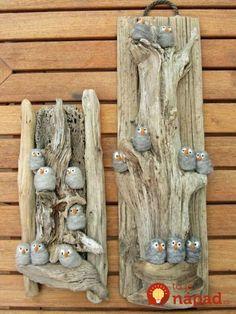 'vogelkaka' painted rocks birds on driftwood jl – Artofit – BuzzTMZ Stone Crafts, Rock Crafts, Fun Crafts, Diy And Crafts, Arts And Crafts, Driftwood Projects, Driftwood Art, Art Pierre, Beach Crafts