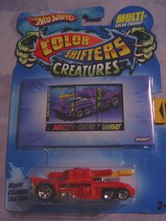 Hot Wheels Color Shifters Creatures, INVADER - Colors Vary by Mattel/Hot Wheels. $9.94