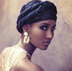 head wraps for natural hair | Read more: History of the African Head Wrap | eHow.com http://www.ehow ...