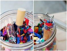 push-up pop confetti shooter