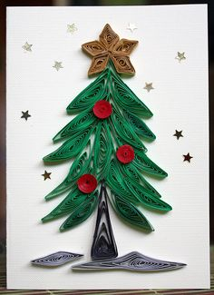Quilling - Christmas Tree by piechot, via Flickr