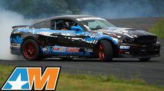Insane Turbo Mustang Drifting! - AmericanMuscle 2015 Mustang Calendar Shoot