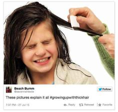 Things You Cant Get Away With When You Have Thick Hair - 19 things everyone whos had a crush will understand